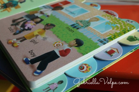 Tabbed board books - Books for the Child with Special Needs