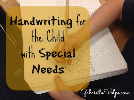 Handwriting for the Child with Special Needs 2