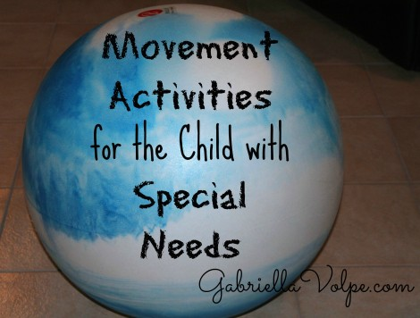 movement activities for children with special needs title