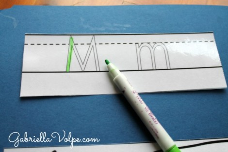 Laminated dry_erase letter_lapbooks for kids with special needs