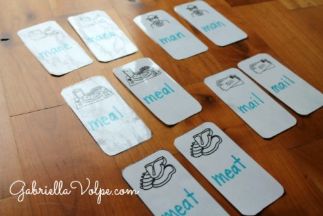 Using lapbooks with children with special needs_Doubles of cards